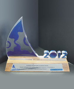 RECOGNITION AND APPRECIATION FROM ASHARQIA CHAMBER 2012