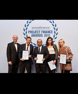 Developer of the Year, EMEA Project Finance Magazine 2016