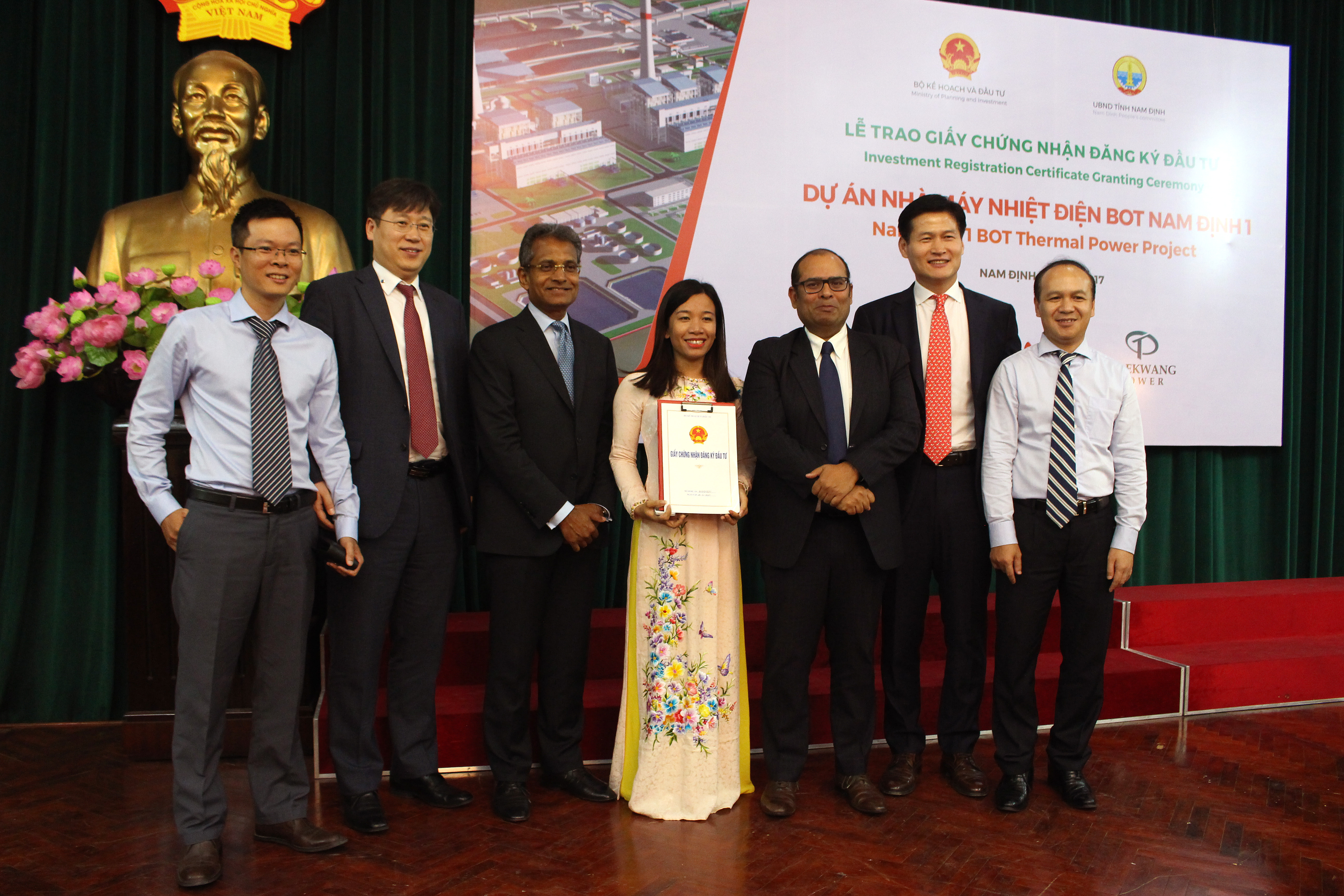 ACWA Power and Taekwang Power Holdings granted Investment Registration Certificate for Nam Dinh 1 Thermal Power Project