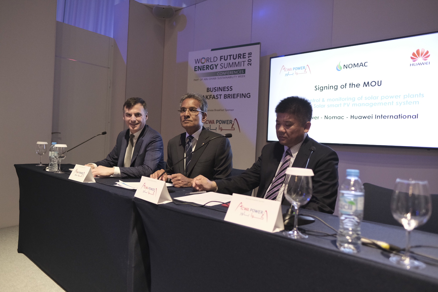 ACWA Power and Huawei launch programme to enhance efficiency of solar plants (1)