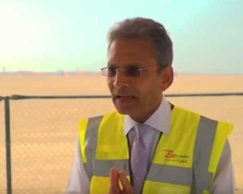 CGTN's reports on ACWA Powers Hassyan Project interviewing-video