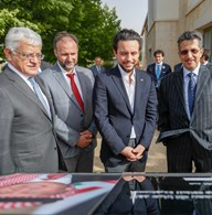 Royal Hashemite Court Media and Communications Directorate: Deputising for King, Crown Prince inaugurates solar power facility at King's Academy