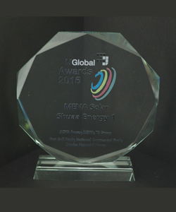 MENA POWER SHUAA ENERGY 1 IJ GLOBAL AWARDS 2015