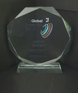 MENA SPONSOR WINNER, IJ GLOBAL AWARDS 2015