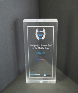BEST PROJECT FINANCE DEAL IN THE MIDDLE EAST RABIGH IPP 2009