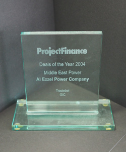 DEAL OF THE YEAR MIDDLE EAST PROJECT FINANCE 2004