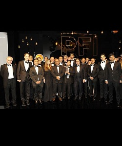 Global Sponsor of the Year 2015 PFI Awards